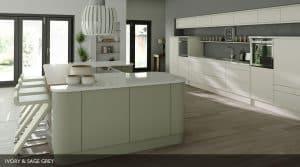 Setosa Painted Kitchen