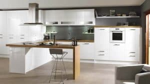 Lucente White Gloss Kitchen