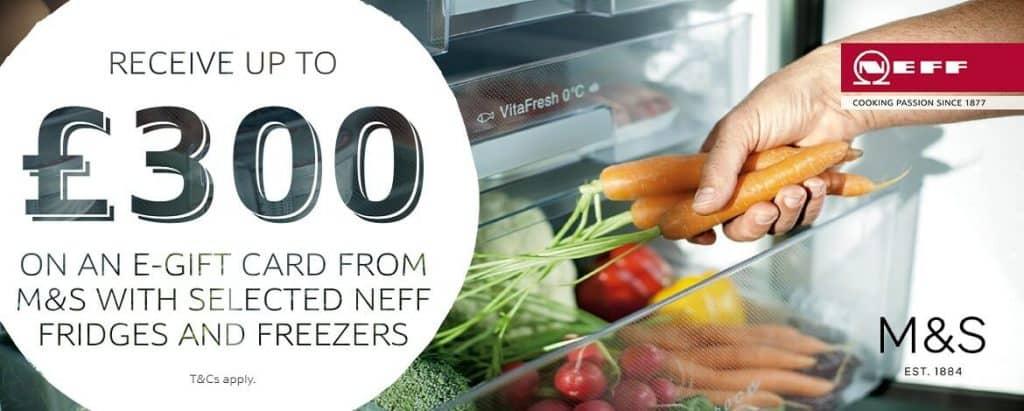 Neff M&S Voucher Offer