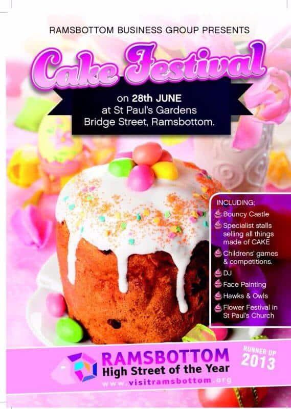 Ramsbottom Cake Festival Invite