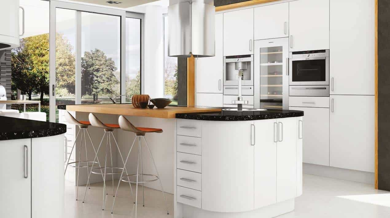 How to incorporate big kitchen ideas in to a small kitchen for Kitchen company
