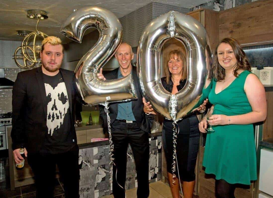 ramsbottom kitchens 20th birthday