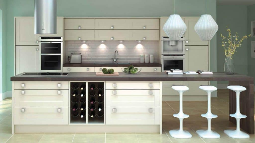 Broad Style Buttermilk classic Shaker style kitchen