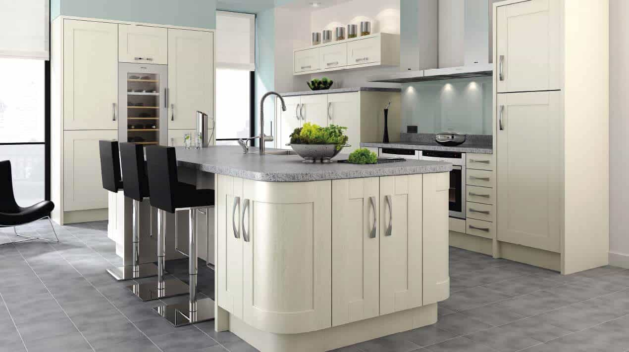 Ivory Shaker Ramsbottom Kitchen Company