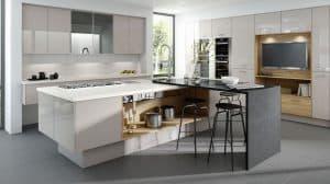 Mattonella Gloss Cashmere Kitchen