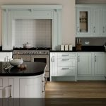 painted wood kitchen design