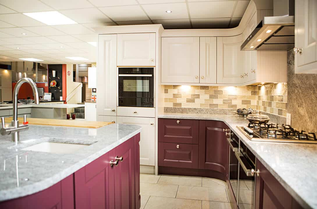 fitted kitchen marble tops