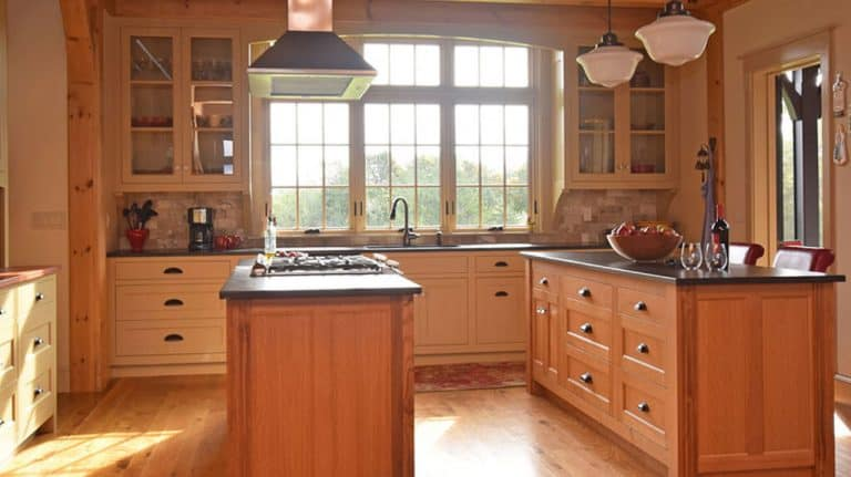 cabinet style for a shaker kitchen