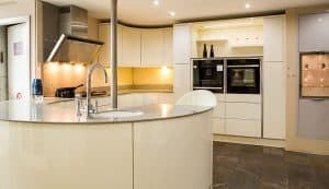 fitted modern kitchen design