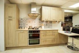 sheraton kitchens sand oak shaker