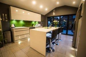 True rigid assembled trade kitchen