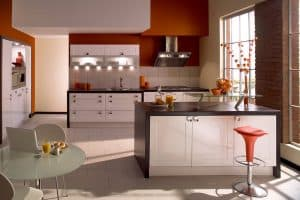 Sheraton Gloss White Shaker Kitchen
