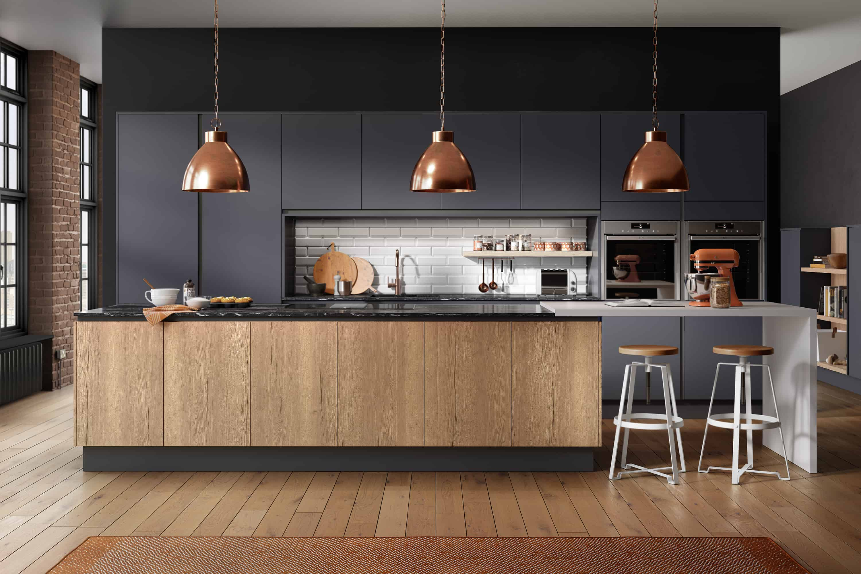 On Style Today 2021 01 07 Contemporary Blue Kitchen Ideas Here